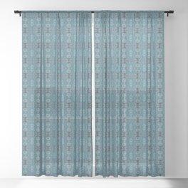 Blue Waters Sheer Curtain