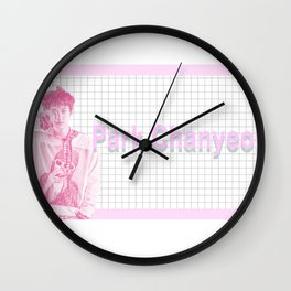 Pastel PCY Wall Clock