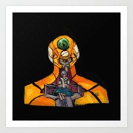 Eva! Art Print