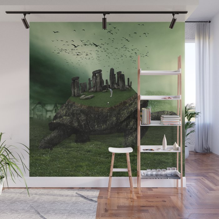 Druid Golf Wall Mural by marianvoicu Society6