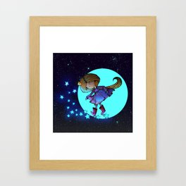 Walking in The Stars Framed Art Print