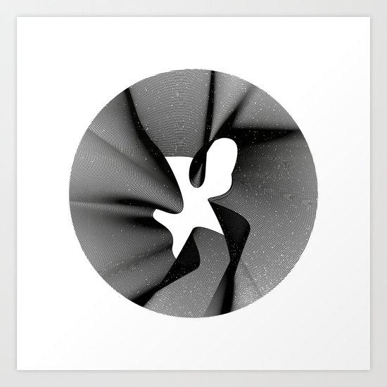 minimal & geometric no.5 Art Print