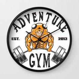 Adventure Gym Wall Clock