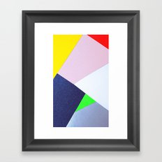 Collage n°1 Framed Art Print