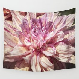 Marbled Dahlia, No. 1 Wall Tapestry