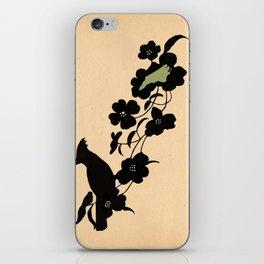 North Carolina - State Papercut Print iPhone Skin