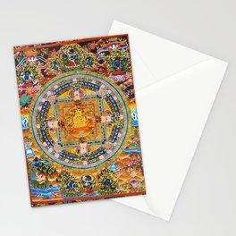Mandala Buddhist 2 Stationery Cards