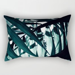 Inside of Palm Trees Rectangular Pillow