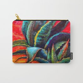 WESTERN DESERT BLUE AGAVE Carry-All Pouch