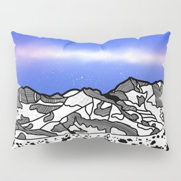 Mount Snowdon Wales Pillow Sham