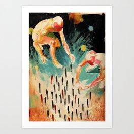 Juok The Creator Art Print