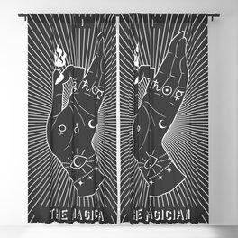 Minimal Tarot Deck The Magician Blackout Curtain