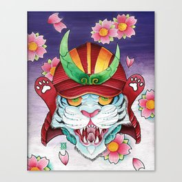 Tora! Canvas Print
