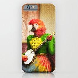 Banjo Birdy Plucks a Pretty Tune! iPhone Case