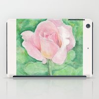 tiffany iPad Cases featuring Tiffany Rose by Annie Mason
