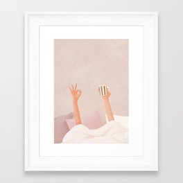Morning Coffee II Framed Art Print