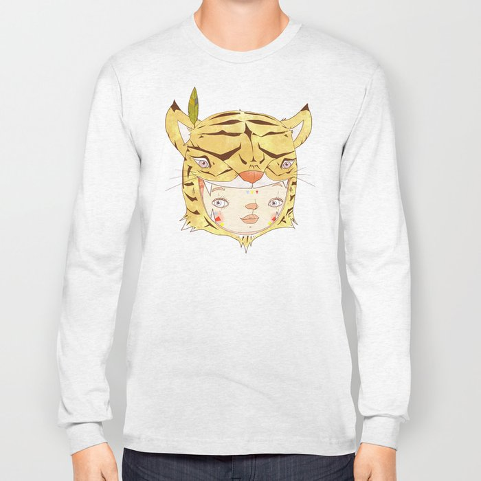 DRUNKEN TIGAAAAR Long Sleeve T-shirt
