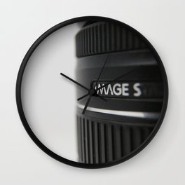 Image Stabilization Wall Clock