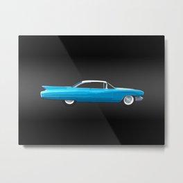 1960 Cadillac Coupe De Ville Metal Print