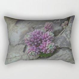 Rock moss - Art macro photography (near the Studen Kladenets dam, Bulgaria) Rectangular Pillow