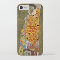 gustav klimt iPhone & iPod Cases featuring Gustav Klimt - Hope, II by ArtMasters