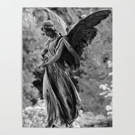 Gothic angel | Cemetary Angel | Angel decor | Stone angel Poster