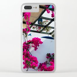 Flower house Clear iPhone Case