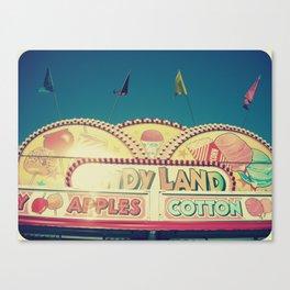 CandyLand ~ vintage-feel carnival Canvas Print