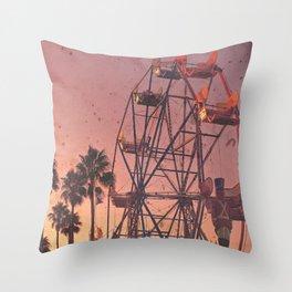 Sunset Carnivals Throw Pillow