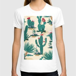 Desert Cactus Garden II T-shirt