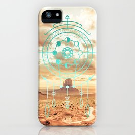 Mandala Desert Dawn iPhone Case