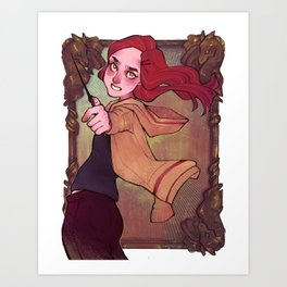 PWP: Must be a Weasley Art Print