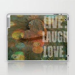 LIVE. LAUGH. LOVE. Laptop & iPad Skin