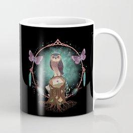 Enchanted Woodland Secret Keeper And Dream Catcher Coffee Mug