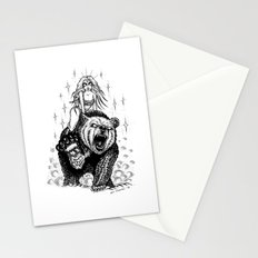 The marvelous couple Stationery Cards