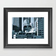 Urban Shades of Gray Framed Art Print