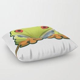 Cute Kawaii Green Tree Frog Floor Pillow