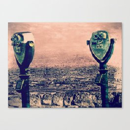 Scenic Drive, El Paso, TX. Canvas Print