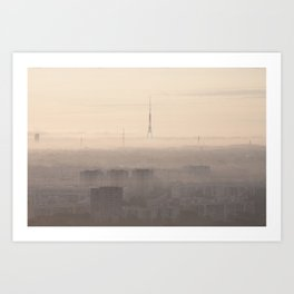 Dawning Utopia Art Print