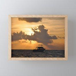 Sunrise Sail Framed Mini Art Print