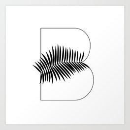 Palm B Art Print