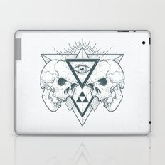 Illuminati Skulls Art Laptop & iPad Skin