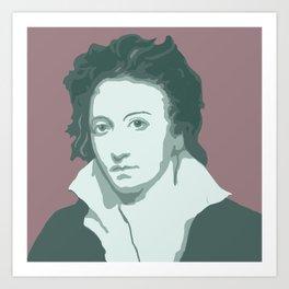 Percy Bysshe Shelley Art Print