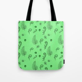 Fiddleheads and Ferns Tote Bag