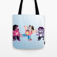 steven universe Tote Bags featuring Steven by pokegirl93