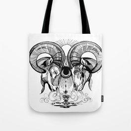 Aries Rams Tote Bag