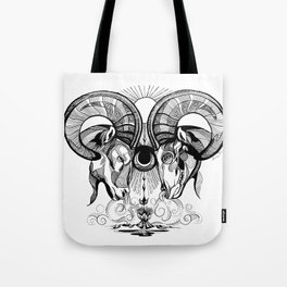 Aries Rams Tote Bag