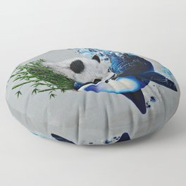 """Mother Nature's Yin&Yang"" Floor Pillow"