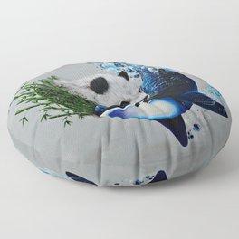 """Mother Nature's Yin&Yang"" Floor Pillow"