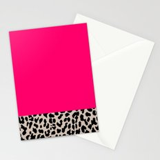 Minimal Leopard Stationery Cards